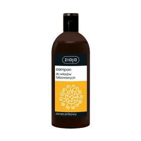 Szampon do włosów farbowanych słonecznikowy