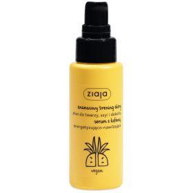 Ananasowy shot do twarzy szyi i dekoltu energetyzująco - nawilżający.
